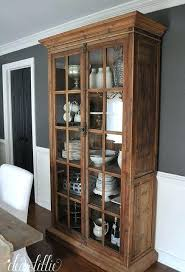 Farmhouse China Cabinet Ikea Dining Room China Cabinet Black Hutch Used Sets With Houzz