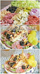 best 25 italian salad ideas on pinterest italian salad recipes