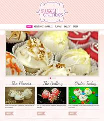 Home Web Design Inspiration Showcase Of 10 Beautiful Cupcake Website Design