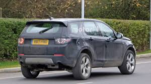 2017 land rover discovery sport trunk land rover caught already working on next gen discovery sport