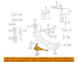 lexus gs300 wagon lexus toyota oem 98 05 gs300 front suspension susp crossmember