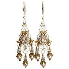 Vintage Pearl Chandelier Earrings Best 25 Vintage Bridal Earrings Ideas On Pinterest Vintage