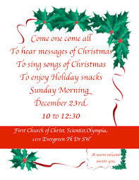 join us dec 23 for our early service church of