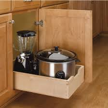Kitchen Cabinets With Drawers Kitchen Base Cabinet Wood Pull Out Drawers W 3 4 U0027 U0027 Extension Euro