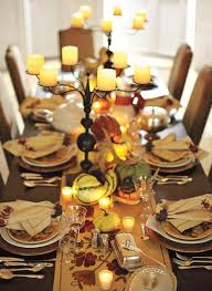 thanksgiving dinner table decoration ideas 10950