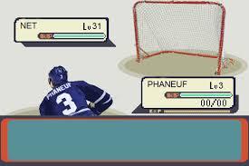 classic phaneuf slap shot hockey