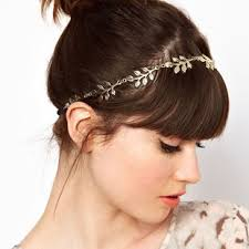 hair jewellery europe and america trendy gold leaf band hot style amorous