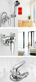 bathroom copper unfold install water heater mixing valve and