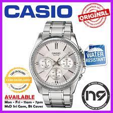 Jam Tangan Casio Chrono casio mtp 1375d 7av analog watches chronograph business