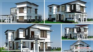 Home Design Box Type 2500 Sq Feet 4 Bedroom Modern Home Design Architecture House Plans
