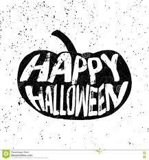 vintage black and white halloween images vintage halloween pumpkin silhouette in grunge style vector stock