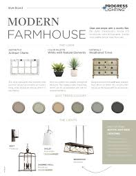Contemporary Farmhouse Floor Plans Progress Lighting Modern Farmhouse
