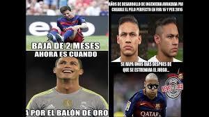 Memes De Cristiano Ronaldo - messi ronaldo y neymar son portada de los mejores memes