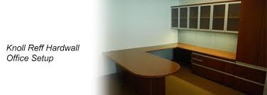 Knoll Reff Reception Desk Asi All Systems Installation Orlando Fl