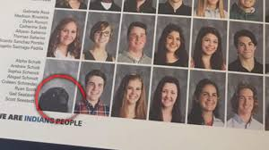 yearbook from high school high school student s service dog gets his own photo in yearbook