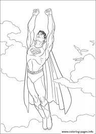 flying superman kids printable0cf5 coloring pages printable