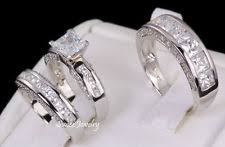 his and wedding sets his and wedding band sets ebay