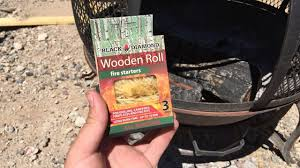 black diamond wood roll fire starters review youtube