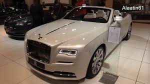 rolls royce white convertible rolls royce dawn 2017 in depth review interior exterior youtube