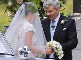 michael middleton pippa middleton wedding kate prince william and celebrities arrive
