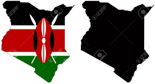 Kenya Blank Map by Free Vector Kenya Map