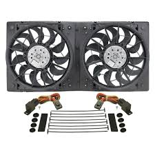 electric radiator fans and shrouds derale performance 16928 dual electric radiator fan with plastic