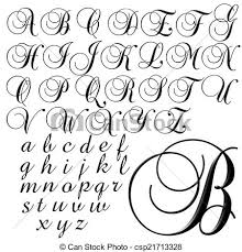 clip art of abc alphabet lettering design alphabet lettering