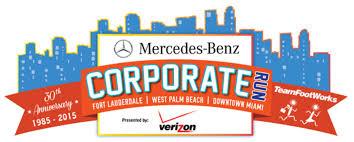 mercedes corporate mercedes corporate run takes downtown miami thursday