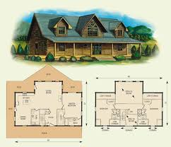 log home floor plans with basement fair oaks log home and log cabin floor plan 2084sf floor