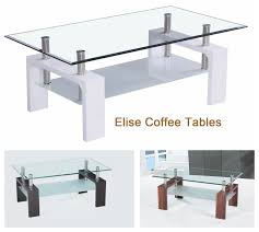 coffee table exciting glass coffee tables ideas small white