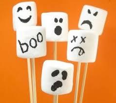 Halloween Treats Creative Marshmallow Halloween Snacks