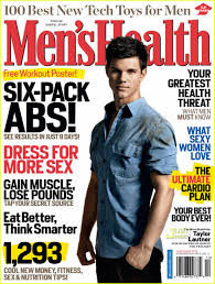 men s taylor lautner covers men s health december 2009 photo 2348351