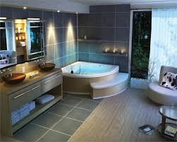 great bathroom designs corner spa bath 7 great bathroom designs homeportfolio