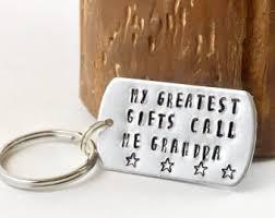 keychain for grandpa etsy