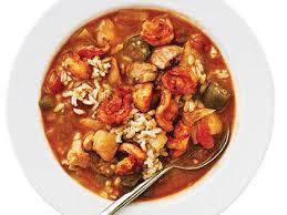 lot of 6 gumbo soup smoky shrimp and chicken gumbo recipe myrecipes