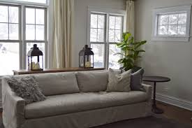 Pillow Arm Sofa Slipcover by Inspired Living My Living Room Re Design Part 1