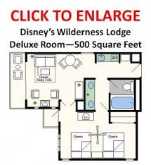 Where To Find House Plans Floor Plans Of Walt Disney World Resort Hotels Beach Resorts And