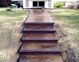 concrete steps and concrete stairs why to use concrete to build