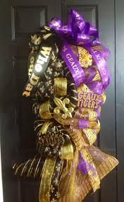 170 best saints lsu wreaths images on pinterest saints wreath