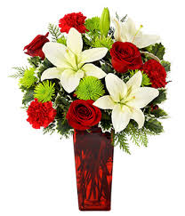 Christmas Flowers Merry Christmas Wishes Bouquet At From You Flowers