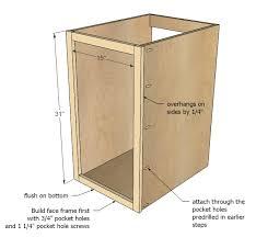 Build Kitchen Cabinet Ana White 18