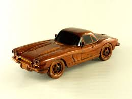 wooden car 1962 chevrolet corvette premium wood designs military car