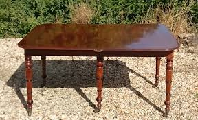 Dining Room Tables With Built In Leaves George Iii Period Mahogany Extending Dining Table With Built In