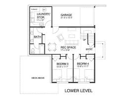 Master Bedroom Above Garage Floor Plans Contemporary Style House Plan 4 Beds 2 50 Baths 1937 Sq Ft Plan