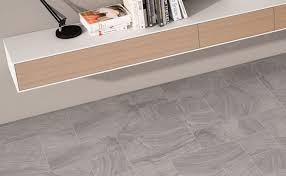 sandstone effect grey floor tiles by gayafores