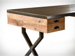 bureau stylé bureau style industriel en metal et bois maison design bahbe com
