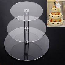 acrylic wedding cake stands for sale only 3 left at 75