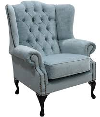 Duck Egg Blue Sofas Uk Duck Egg Blue Chesterfield Mallory Wing Chair Designersofas4u