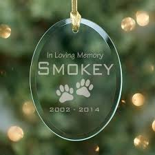 in loving memory personalized gifts in loving memory personalized pet memorial ornaments pet