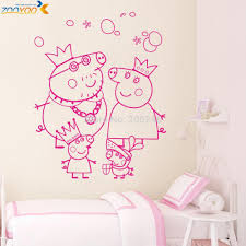 peppa pig wall stickers home design